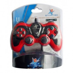 Control Startec Game Pad Usb Alambrico St-gp-16 Negro Pc (Entrega Inmediata)