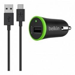 Cargador Auto + Cable Usb C Belkin Original Android Tablets (Entrega Inmediata)