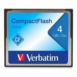 Memoria Compactflash 4gb Verbatim 4gb Compact Flash 4gb (Entrega Inmediata)