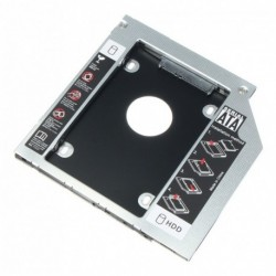 Caddy Hdd 12.7mm Portatil Laptop Disco Duro Ssd Disco Solido (Entrega Inmediata)