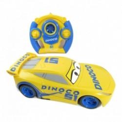 Cars 3 Auto Cruz Ramirez Dinoco Control Remoto Y Luz T367259 (Entrega Inmediata)