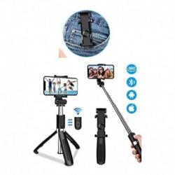 Soporte Celular Selfie Palo Stick Bluetooth Tripode 3 En 1 (Entrega Inmediata)