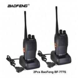 Radio Comunicaciones Baofeng X 2 Bf 777s Negro 3km Boquitoki (Entrega Inmediata)