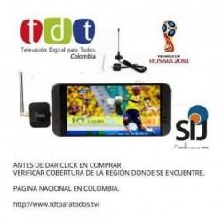 Tdt Para Celular Tv Digital Dvb-t2 Para Android Usb Otg (Entrega Inmediata)
