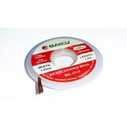 Malla Desoldadora Estaño Profesional Baku Bk-1515 (Entrega Inmediata)