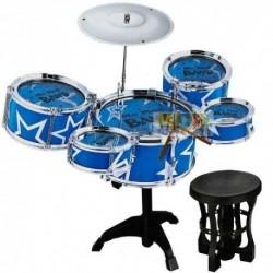 Batería Musical Drum Band Rock 5 Tambores Juguete 26583-2032 (Entrega Inmediata)