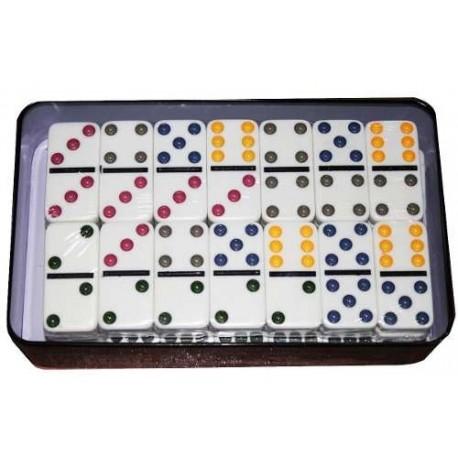 Domino Doble 9 X 55 Fichas Juego De Mesa Familiar
