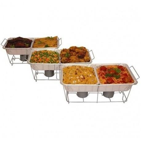 Juego De 24 Piezas Para Servir Buffet Cocina Alimentos