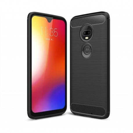 Forro Estuche + Vidrio Templado 5d Motorola G7 - G7 Plus