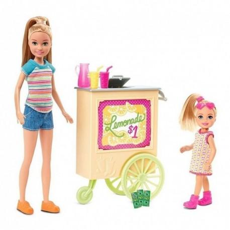 Barbie Team Stacie Vendedora De Limonadas Mattel Ght07 (Entrega Inmediata)