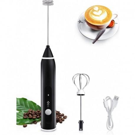 Espumador Usb Recargable Leche Café Chocolate Cappuccino (Entrega Inmediata)