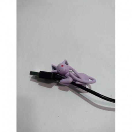 Pokemon Espeon Sujeta Cable Pvc Flexible (Entrega Inmediata)