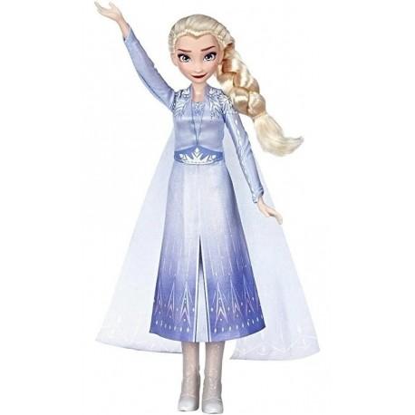 Frozen 2 Elsa Muñeca Disney Cantan En Español Hasbro E6852 (Entrega Inmediata)