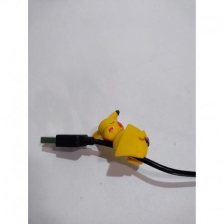 Pokemon Pikachu Sujeta Cable Pvc Flexible (Entrega Inmediata)
