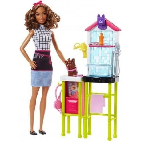Muñeca Barbie Estilista De Mascotas Medica Fjb31 Mattel (Entrega Inmediata)