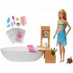 Barbie Y Su Bañera De Burbujas De Verdad Mattel Gjn32