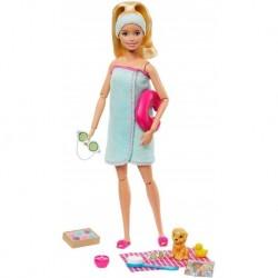 Barbie Made To Move Rubia Yoga Articulada Mattel Ftg81 (Entrega Inmediata)