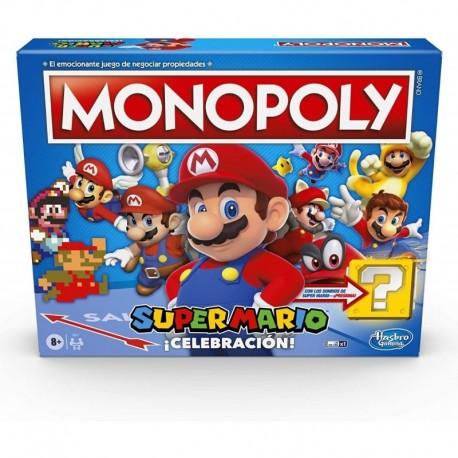 Monopoly Super Mario Celebración Español Hasbro E9715 Juego (Entrega Inmediata)