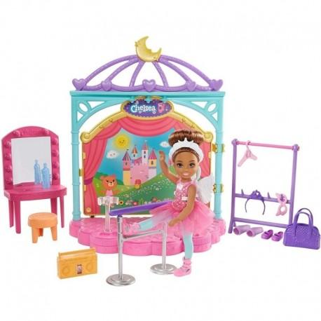 Barbie Club Chelsea Estudio De Ballet Muñeca Mattel Ghv81 (Entrega Inmediata)