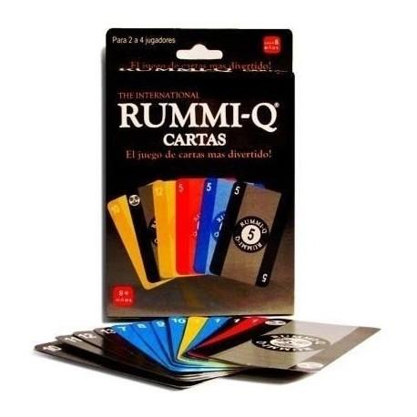 Rummy Q Cartas Ref: 02245-2 Juego De Mesa