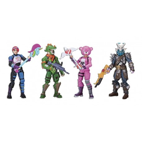 Fortnite Set De Figuras Articuladas X 4 Epic Games Fnt0019 (Entrega Inmediata)