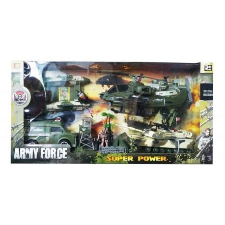 Set Militar X 13 Piezas Army Force Ref. Hw-8a6 (Entrega Inmediata)
