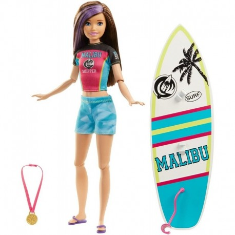 Barbie Skipper Hora Del Surf Dreamhouse Adventures Ghk36 (Entrega Inmediata)
