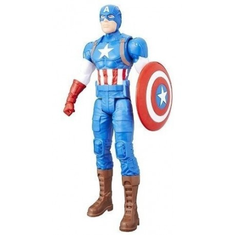 Figura De Acción De 30,cm Capitán América Hasbro C0757-b666o (Entrega Inmediata)