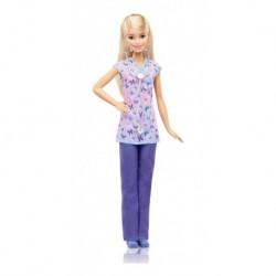 Barbie 60 Aniversario Profesiones Enfermera Mattel Ghw34 (Entrega Inmediata)