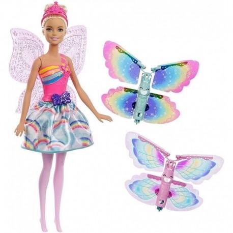 Barbie Dreamtopia Hada Alas Mágicas Mattel Frb08 (Entrega Inmediata)