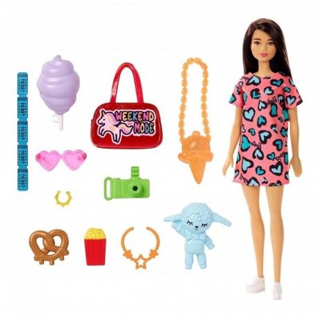 Combo Muñeca Barbie Con Accesorios Surtidos Mattel Fnd48 (Entrega Inmediata)