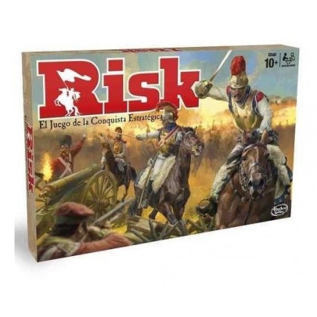 Risk Hasbro El Juego Estratégico De Conquista B7404 (Entrega Inmediata)