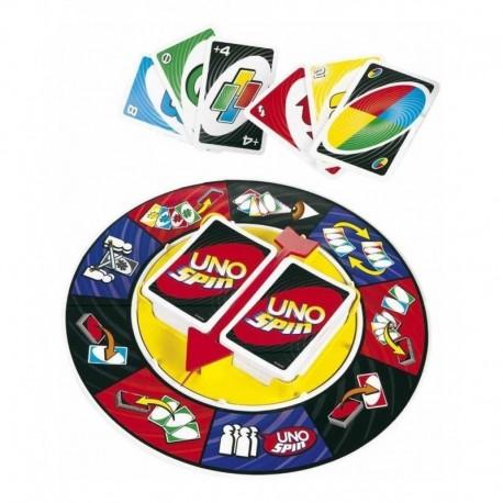 Uno Spin Juego De Mesa Cartas Mattel Games K2784 (Entrega Inmediata)