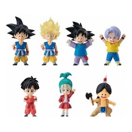 Set 7 Coleccionables Figuras Dragon Ball Con Base