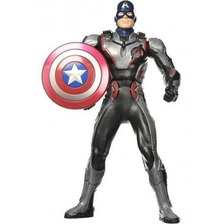 Avengers Muñeco Capitán America Con Sonido Y Escudo E3358 (Entrega Inmediata)