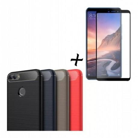 Forro Estuche + Vidrio 2,5d Huawei P Smart Entrega Inmediata (Entrega Inmediata)