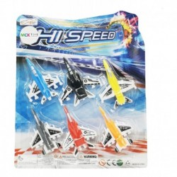 Set X6 Aviónes De Plástico Surtidos Juguete Didáctico Niños (Entrega Inmediata)