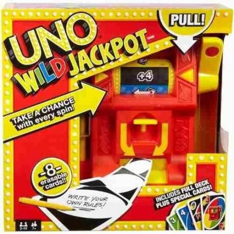 Juego Uno Will Jackpot Para Jugar En Familia Dng26 (Entrega Inmediata)