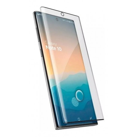 Vidrio Templado 3d Curvo Samsung Note 10 Pro Plus (Entrega Inmediata)
