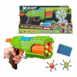 Pistola De Juguete X Shot Bug Attack Rapid Fire + 2 Bichos ! (Entrega Inmediata)