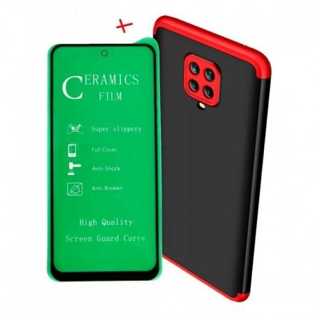 Funda Forro Estuche 360 De Lujo + Vidirio 5d Xiaomi (Entrega Inmediata)