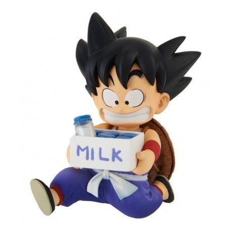 Figura Dragon Ball Son Goku Niño Milk (Entrega Inmediata)