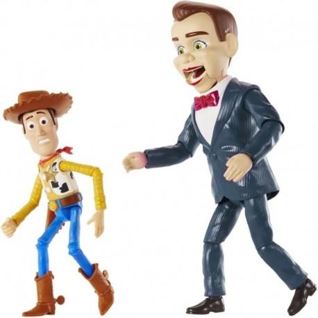 Figura Toy Story 4 Woody Y Benson Set X2 + Obsequio (Entrega Inmediata)