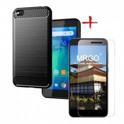 Forro Estuche + Vidrio 2d Xiaomi Redmi Go Entrega Inmediata (Entrega Inmediata)