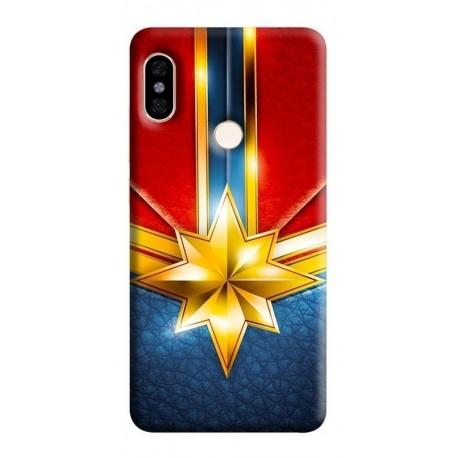 Estuche Forro Carcasa Capitan Marvel Xiaomi, Motorola, Asus (Entrega Inmediata)