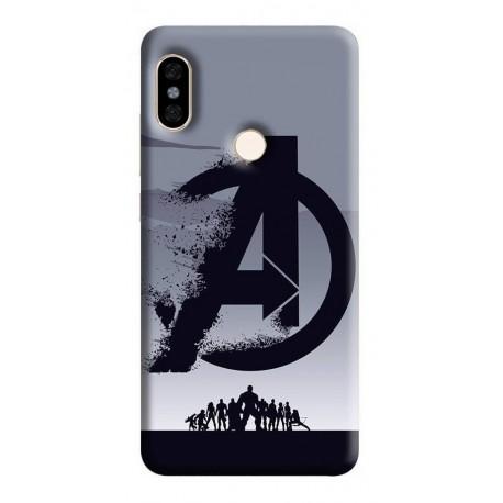 Estuche Forro Carcasa Avengers Logo iPhone Samsung Huawei (Entrega Inmediata)