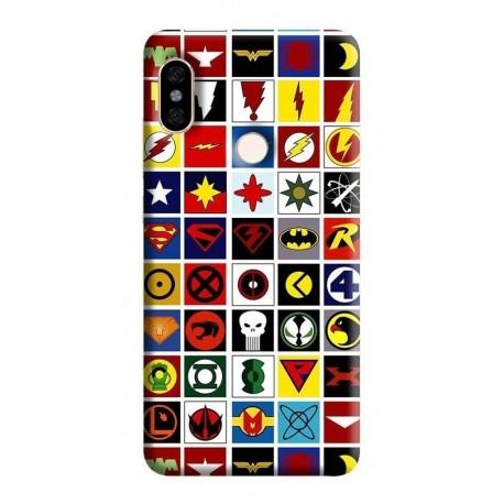 Estuche Forro Carcasa Logo Dc Comic iPhone Samsung Huawei (Entrega Inmediata)