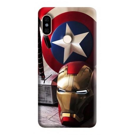 Estuche Forro Carcasa Avengers Super iPhone Samsung Huawei (Entrega Inmediata)