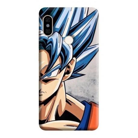 Estuche Forro Carcasa Goku Ssj Blue Xiaomi Motorola Asus (Entrega Inmediata)