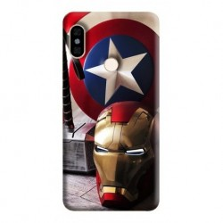 Estuche Forro Carcasa Avengers Super Xiaomi Motorola Asus (Entrega Inmediata)